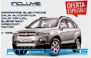 Manual Taller Diagramas E. Chevrolet Captiva En Español