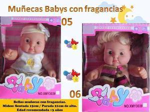 Muñecas Con Aroma A Frutas Baby Lovely
