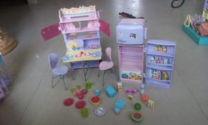 Set De Comedor De La Barbie Original