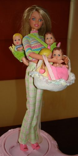 Skipper Niñera Hermana De Barbie  Coleccion Vintage