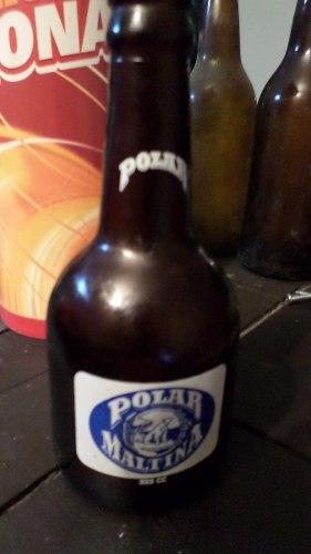 Antigua Botella De Coleccion No Circulante Polar