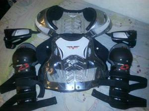 Pechera (peto) Y Rodilleras De Motocross