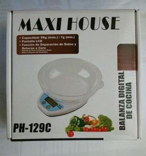 Balanza/peso Digital De Cocina Maxi_house 5k