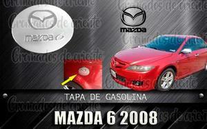 Cobertor Cromado De Tapa De Gasolina Mazda 6