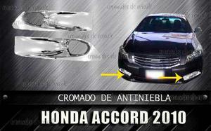 Cobertores Cromados Antiniebla Honda Accord  Al
