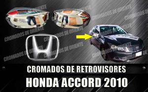 Cobertores Cromados De Retrovisores Honda Accord  Al 201