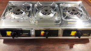 Cocina A Gas En Acero Hitachi
