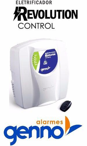 Energizador De Cerco Electrico Genno Rev Control mts
