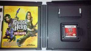 Juego Nintendo Ds Lite, Guitar Hero On Tour Decades Original