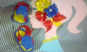 Sandalias Tricolor De Tela Unisex Para Bebes Venezuela