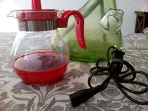 Tetera,cafetera Eléctrica 400ml Jarra Hervidora Color Roja
