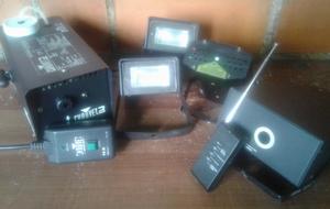 Acesorios para minitecas: Camara de humo, luces repetidoras,