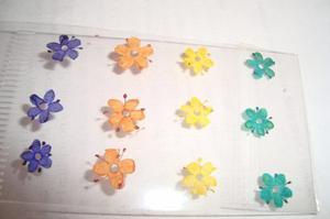 Decoraciones Para Uñas, Naturaleza Seca, Flores Secas