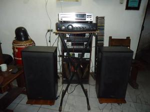 Equipo de sonido Casero Operativo