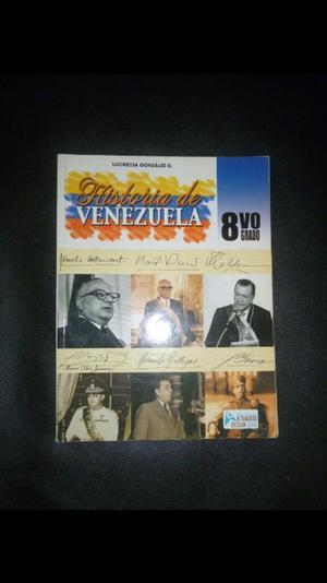 Historia de Venezuela 8vo Grado