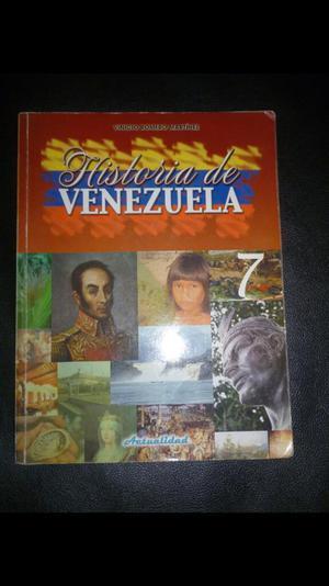 Historia de Venezuela de Vinicio Romero