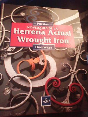 Libros De Herreria hierro Forjado 4 Tomas Usados