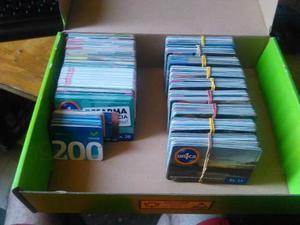 Lotes De 50 Tarjetas Telefonicas, Unicas, Movistar, Digitel.