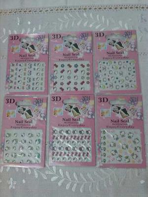 Stikers Para Uñas En 3d De Hello Kitty