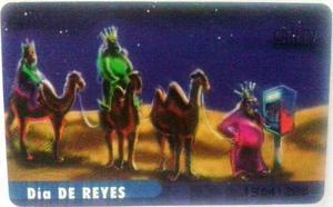 Tarjeta Cantv Usada  De Enero - Día De Reyes
