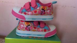 Zapatos Deportivos Sin Luz Niñas Cartoonnetwork T- 22 Al 29