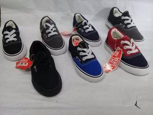 Zapatos Vans De Niño Y Niña