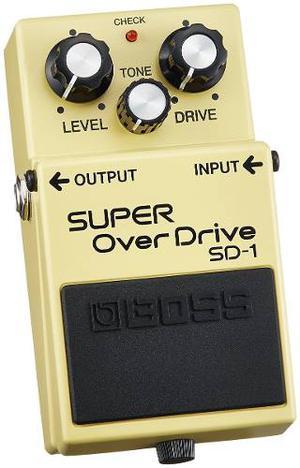 Boss Sd1 Super Overdrive Bien Cuidado
