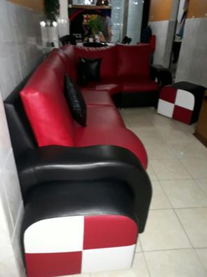 Muebles Semi Cuero Modulares Tipo L