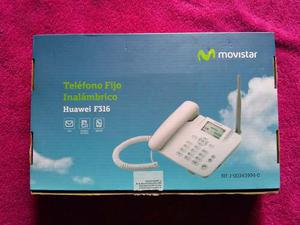 Teléfono Fijo Inalambrico Movistar Totalmente Funcional