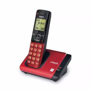 Teléfono Inalambrico Vtech Cs, Dect 6.0 Color Rojo