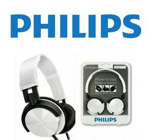 Audifonos Color Blanco Marca Philips