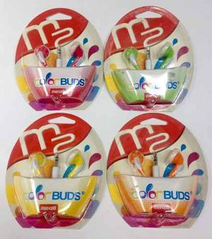 Audifonos Maxell Color Buds Originales Buena Calidad 1.2 Mts