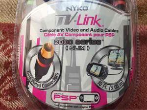 Cable De Video Y Audio Para Psp Sony Y Otros