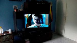 Combo Tv Samsung Smart Tv De 49' Con Mueble Para Tv De 60'