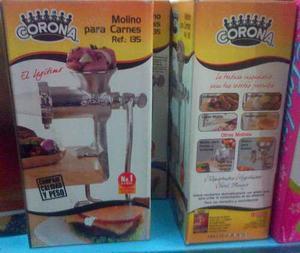 Molino Para Moler Carne Marca Corona