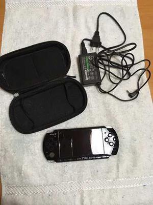 Psp  Color Negro Sin Batería En Impecables Condiciones