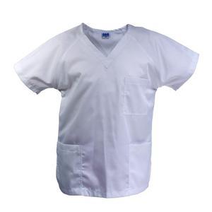 Uniforme De Médico Modelo 1 (dacron Blanco)