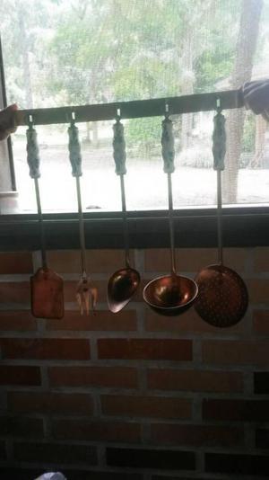 Utensilios de cocina en Bronce