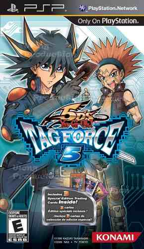 Yu Gi Oh! 5ds Tag Force 5 Psp Game