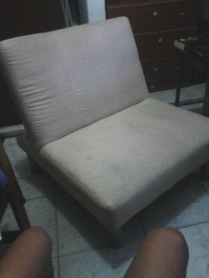 sofa cama individual color beigpe