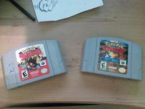 Combo Juegos Pokemon Para Nintendo 64