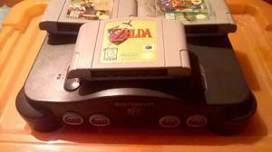 Consola Nintendo 64 En Perfecto Estado + Excelentes Juegos