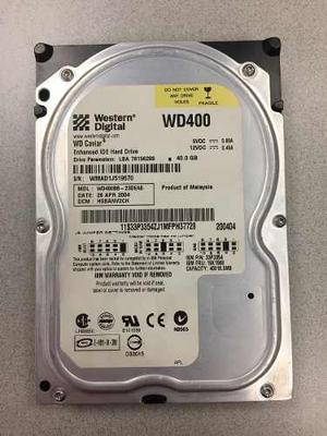 Disco Duro 3.5 Ide 40 Gb Marca Western Digital