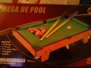 Es Una Mesa De Pool Pequeña Esta Nueva En Su Caja Y Todo