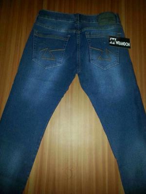 Jeans para Caballero Bota Tubo Estrech