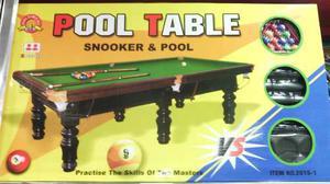 Mesa De Pool Y Juego De Billar Con Tos Su Accesorio Al May