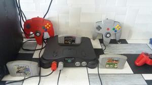 Nintendo 64 2 Controles 3 Juegos  Uno De Carros R