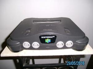 Nintendo 64, 4 Controles, 16 Juegos (negociable)
