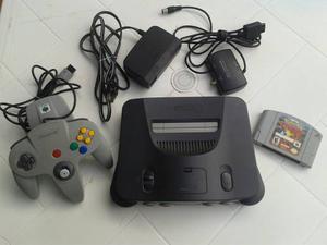 Nintendo 64 Con Todos Sus Accesorios