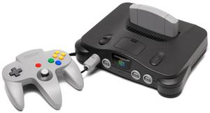 Nintendo 64 + Control + Cable De Poder, Sin Cable De Video